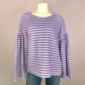 Madewell Bell Sleeve Sweatshirt